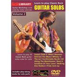 Music Sales Learn To Play Classic Rock Guitar Solos Volume 2