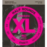 D'Addario ENR71 Half Rounds Bass Regular Light 45-100