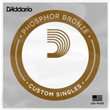 D'Addario PB 025 - Phosfor Bronze wound '025 single string