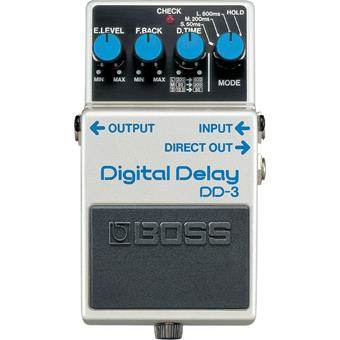Boss DD-3 Digital Delay delay/echo/looper pedaal
