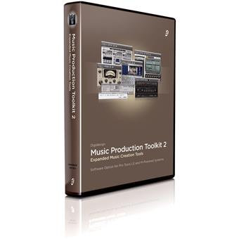 DigiDesign Music Production Toolkit 2 Software Bundle USB audio interface