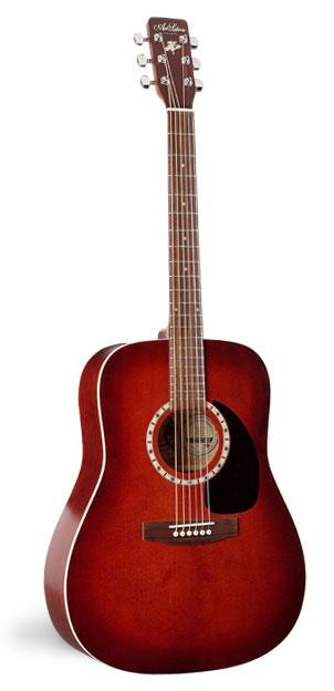 Image of Art & Lutherie Dreadnought Spruce Burgundy 0000000000000