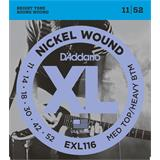 D'Addario EXL116 Medium Top Heavy Bottom