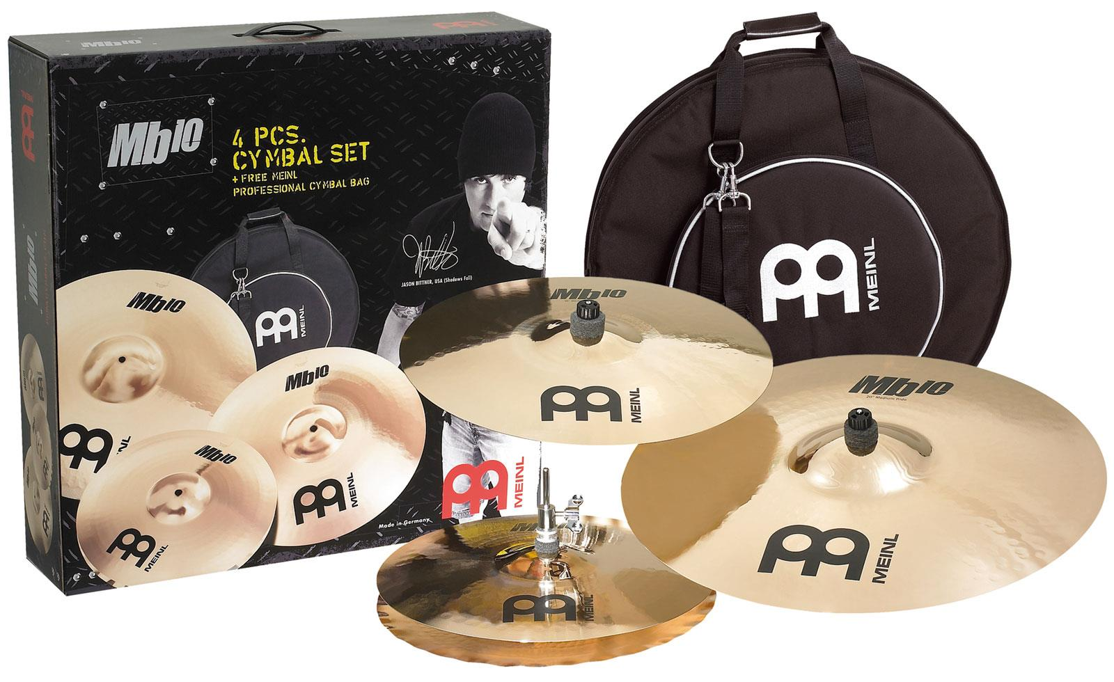 meinl mb10 cymbal set keymusic. Black Bedroom Furniture Sets. Home Design Ideas