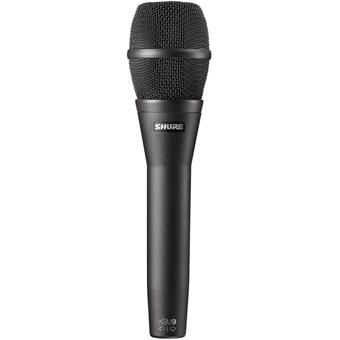 Shure KSM9 Charcoal Black condenser microphone for vocalists