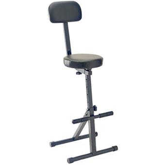 Stagg MT300 Pro Guitarist Throne Black guitar stool