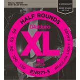 D'Addario ENR71-5 Half Rounds 5-String Bass Regular Light 45-13