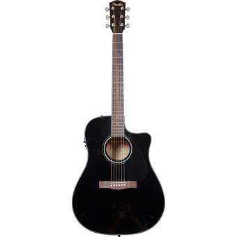Fender CD60CE Black westerngitaar met cutaway