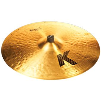 Zildjian 22 K Dark Medium Ride ride cymbal