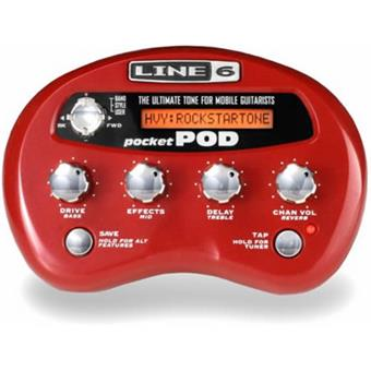 Line 6 Pocket Pod gitaarinterface/modelling software