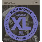 D'Addario EHR370 Half Rounds Medium