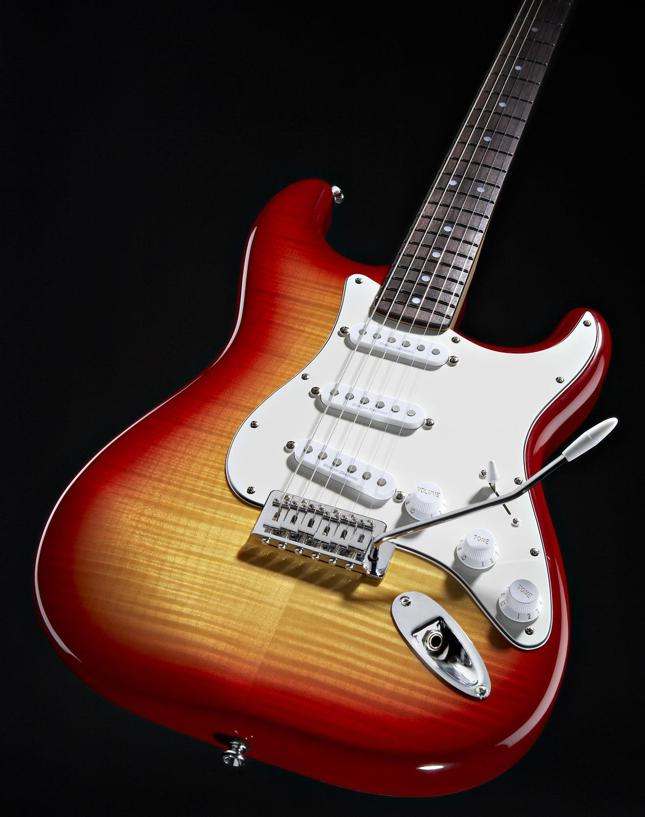 squier vintage modified stratocaster cherry sunburst fmt rw keymusic. Black Bedroom Furniture Sets. Home Design Ideas